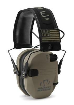 Walker Razor Patriot Series - Razor Slim Electronic Muff - FDE PATRIOT