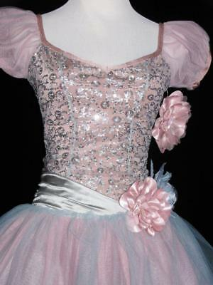 Lot of 3 Cascade Curtain Call ASM AMED Ballet Sequins Long Tutu Costume