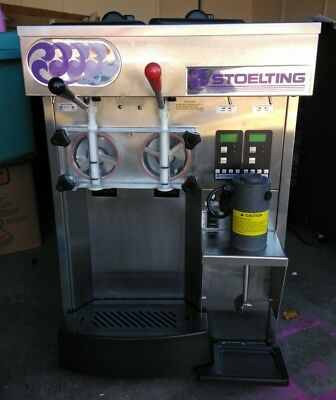STOELTING sf144-38l SOFT SERVE ICE CREAM COUNTER TOP AIR COOLED No Reserve