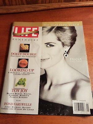 Princess diana Life Magazine Collector's edition 1997 1998