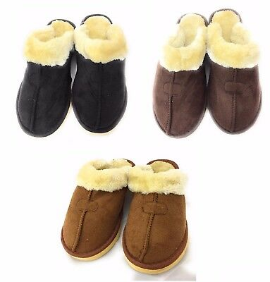 Women Men Winter Warm Unisex Shoes Soft Indoor Home Slippers Xmas Gift NWT