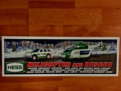 2012  Hess Helicopter and Rescue ~ New in Box with original bag !