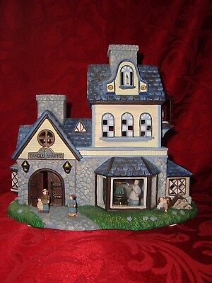 Partylite CANDLE SHOPPE P73315 1st Olde World Village Tealight House Series