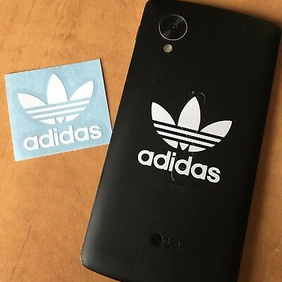 """Pair of Adidas Stickers for Phone Back or Case 1.5"""" Vinyl Decal"""