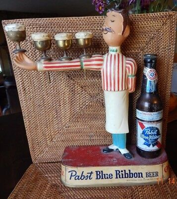 Pabst Blue Ribbon 1960's Iconic Back Bar Statue