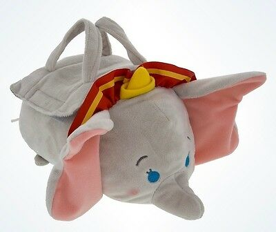 "Disney Tsum 9.5"" Dumbo Bag Only No Minis Parks Authentic Plush Collectible Nwt"