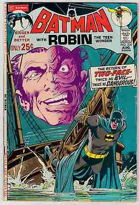 Batman #234 (1971) Neal Adams First Silver Age Two-Face Appearance