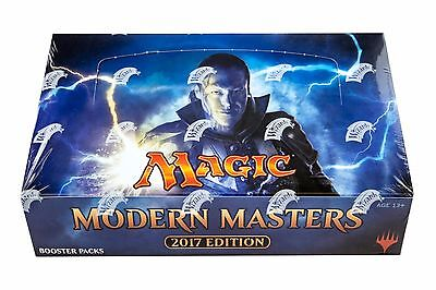 2017 Modern Masters MTG (Magic the Gathering) Factory Sealed 2 Box Booster Case