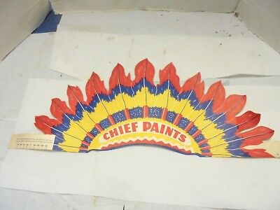 paper indian headband chief paints business promotion toy #2