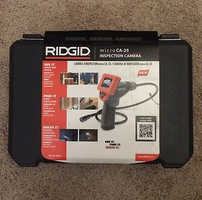 Ridgid Micro CA-25 Handheld Inspection Camera w/Color LCD Screen #40043