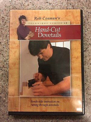 Rob Cosmans Hand-cut Dovetails DVD