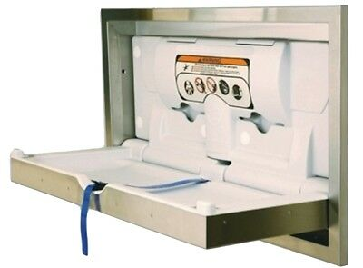 BCP-SSC-R JD Macdonald S'Steel Baby Change Station Easy to Clean Resists Odours