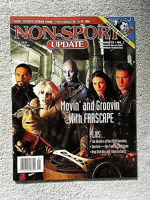Feb/Mar 2001 Non-Sport Update Magazine Farscape Cover Vol. 12 #1 VF+ (No Cards)