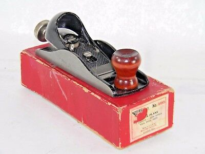 Superb Millers Falls # 1455 Low Angle Block Plane In Box  T3335