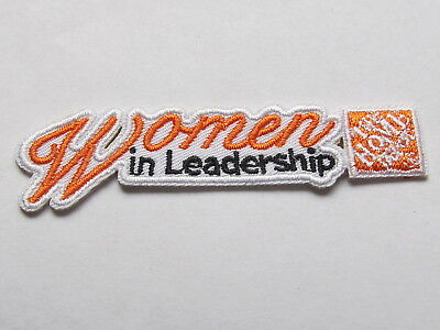 home depot collectibles home woman in leadership patch