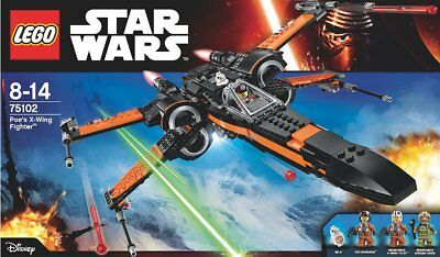 BRAND NEW SEALED LEGO 75102 Star Wars Poe's X-Wing Starfighter