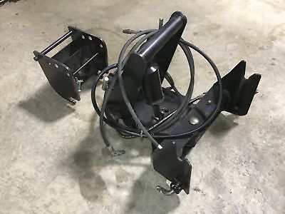Used John Deere 4100 4110 4115 Quick Hitch Assembly W/ Snow Blower Adaptor