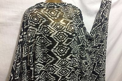 NEW*Smooth 100/% Polyester Aztec//African Border Print Dress//Craft Fabric*FREE P/&P