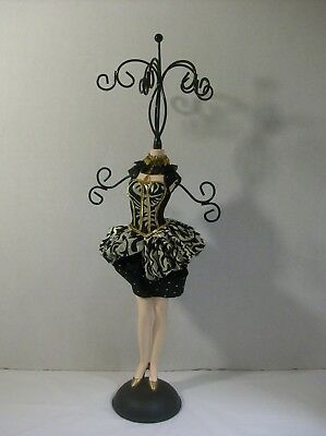Jewelry Earring Necklace Holder Mini Mannequin Dress Form Necklace