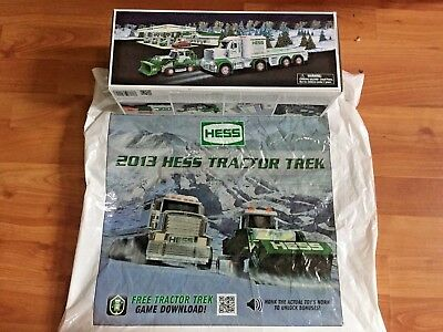 2013 Hess Tractor Trek  ~ New in Box~with Bag