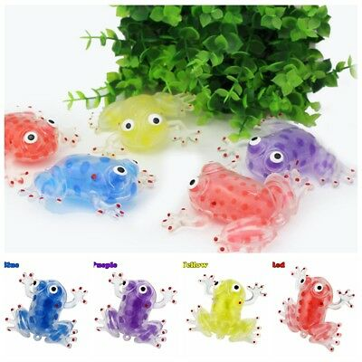 Anti-stress Decompression Splat Frog Sticky Squeeze Stress Relief Toy Bead Ball
