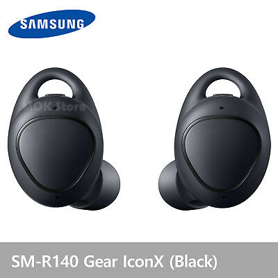 Samsung SM-R140 Gear IconX  Wireless Fitness Earbuds Headphones New 2018 - Black