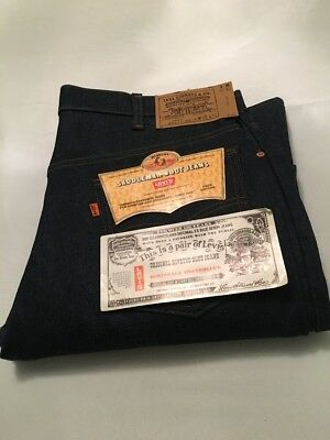 Levi's 517 Saddleman Boot Jeans 38/31 True Vintage Deadstock No Big E