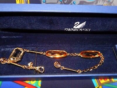 Swarovski Three Large Cut Crystal Bracelet 850073
