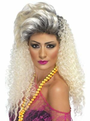 Smiffys 80s Bottle Wig Female - Blonde - One Size