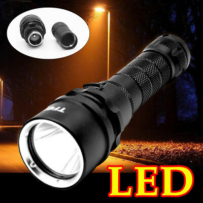 Long Range Torch High Power LED Rechargeable Flashlight 1000 Lumens Police Army