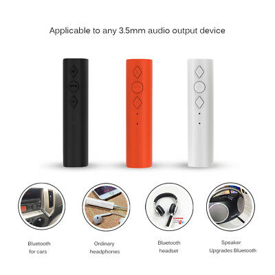 Bluetooth AUX Car Stereo Audio Music Receiver Wireless Handsfree Adapter