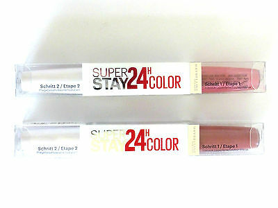 Maybelline New York Super Stay 24HR Colour Ultimate  Lip Gloss X 1  Various