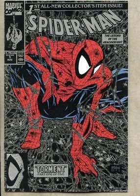 Spider-Man #1-1990 nm- 9.2 Todd McFarlane Silver Cover Direct Edition