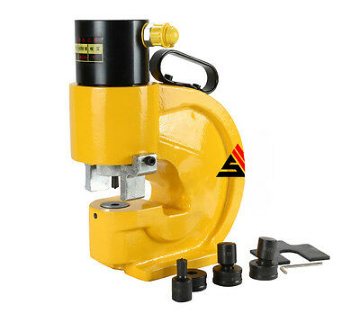 CH-70 35T Hydraulic Punch Machine, Metal Sheet Punching Hole Tool Max.12mm
