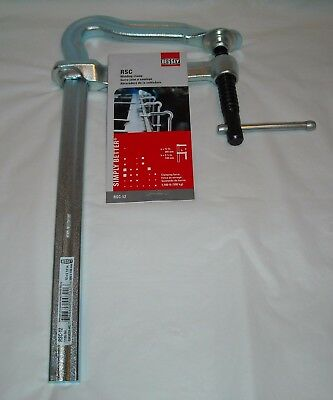 """Bessey RSC-12 Welding Metalworking Clamp 12"""" x 5.5"""" 1100 lb Clamping Force"""