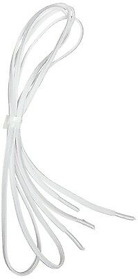 Elasticated Shoelaces [Pack Of 2] White. Mobility Aid. 94cm