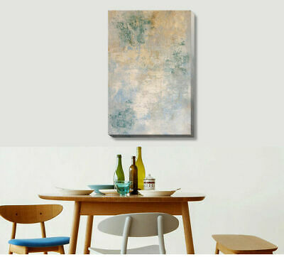 Abstract Vintage Stretched Canvas Print Framed Wall Hanging Home Office Decor