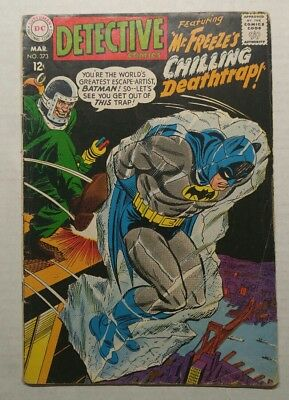 Detective comics #373 2nd Appearance Of Mr.Freeze 1st time Name Used
