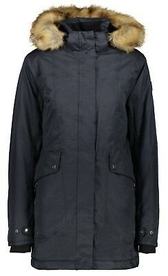 CMP Damen Parka 3Z18766 U423 anthrazit / Outdoorjacke