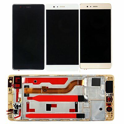 For Huawei P9 Standard EVA-L09 LCD Display Assembly Touch Screen Digitizer+Frame