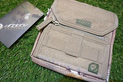 DYE Tactical Dyecam Admin Pouch Molle Paintball Airsoft Woodland