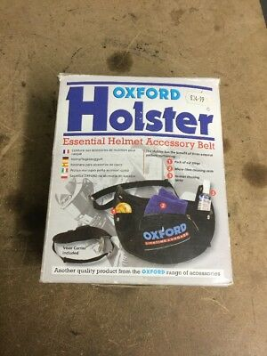 Oxford Holster Helmet Accessory Belt NEW
