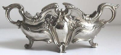 Antique French Silver Plate Jardiniere | Decorative | Xmas Table Centrepiece