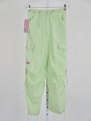 UFO NWT Dance Pants XS Green UniSex $59