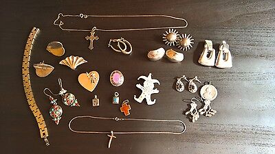157 Gram    Sterling Silver Mixed Jewelry    NO Junk    ALL  EX