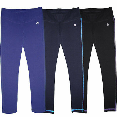 Kinder Mädchen Leggings Stretch Hose Sport Leggins Fitnes Hosen Training