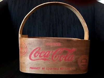 1940's Balsa Wood Coca-Cola Carrier-Hard to Find