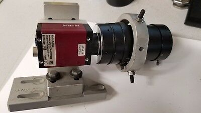 Allied Vision Marlin f-080b Firewire Machine Vision industrial camera with Lens