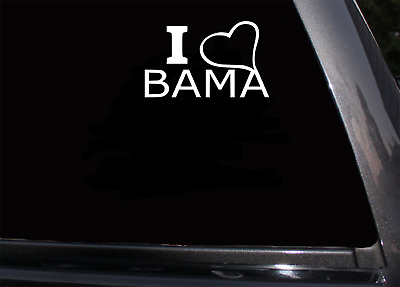 "Bama Dad BLACK 5.5/"" Car Sticker Decal University Alabama crimson tide fan *B45*"
