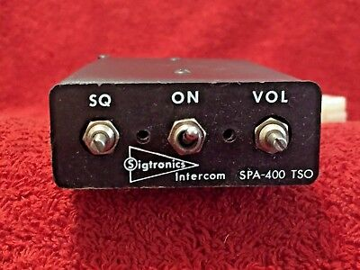 Sigtronics Spa 400 Intercom 12/24 Volts